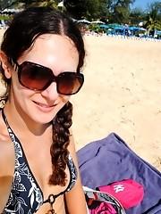 Lovely Nicole Montero's delicious selfshots