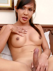 Sexy ladyboy with a killer smile