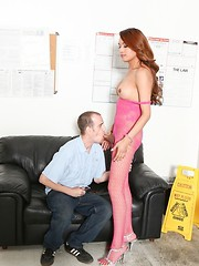 Jessica Foxx and Chad Diamond